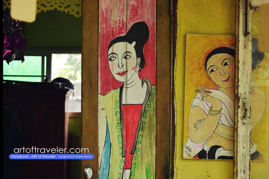 แฝงงานศิลป์แบบชาวเหนือ เพราะบรรพบุรุษเป็นชาวโยนกหรือไทยวน