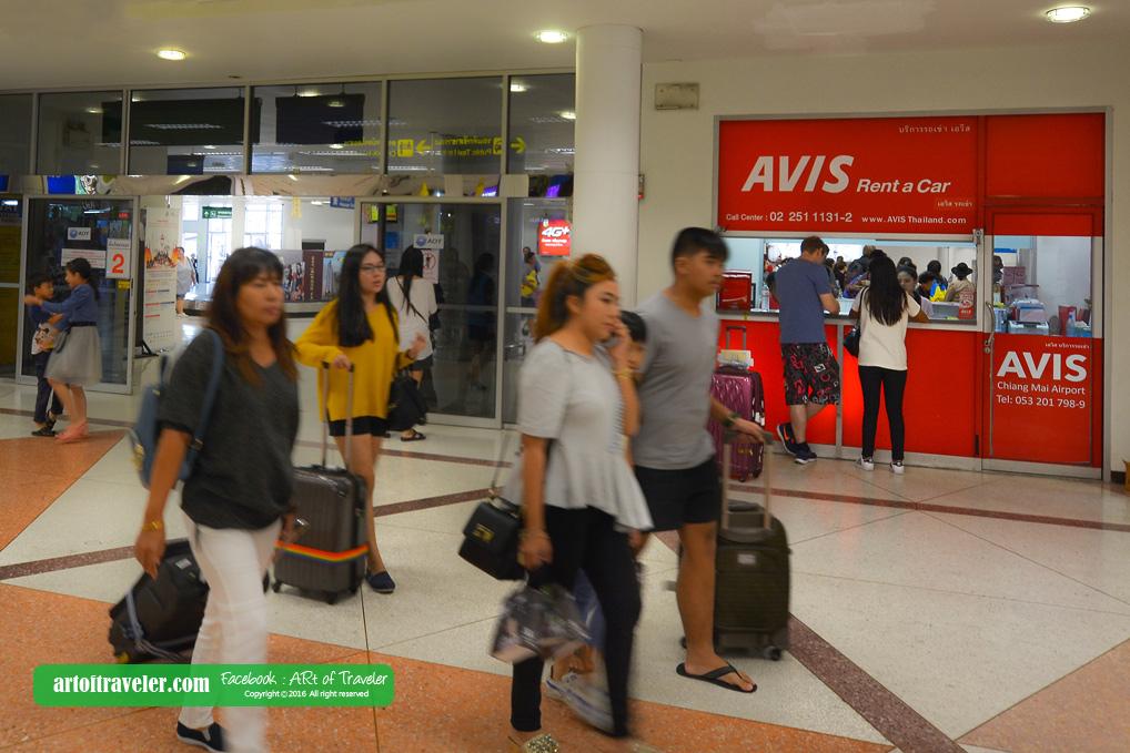AVIS Thailand - Chiang Mai Airport